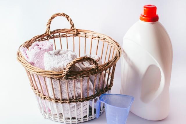 コインランドリーと洗濯洗剤